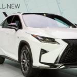新型レクサスRXハイブリッドのマイナーチェンジ予想いつなる?