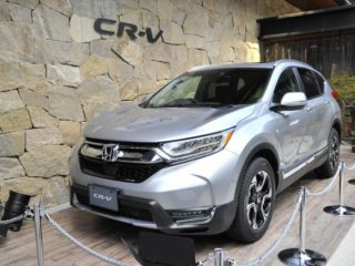 cr-v 新型 評価 乗り心地 走行性能