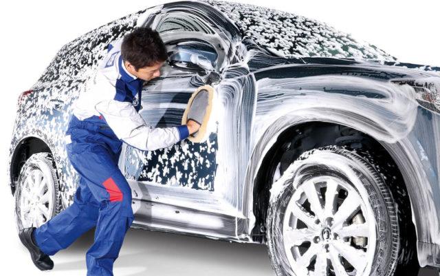 ディーラー 1ヶ月点検 洗車